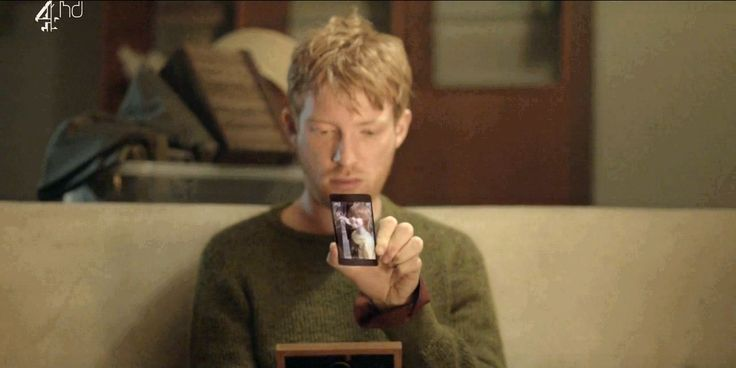 """Domhnall in """"Be Right Back"""" (2.1 Black Mirror episode)"""