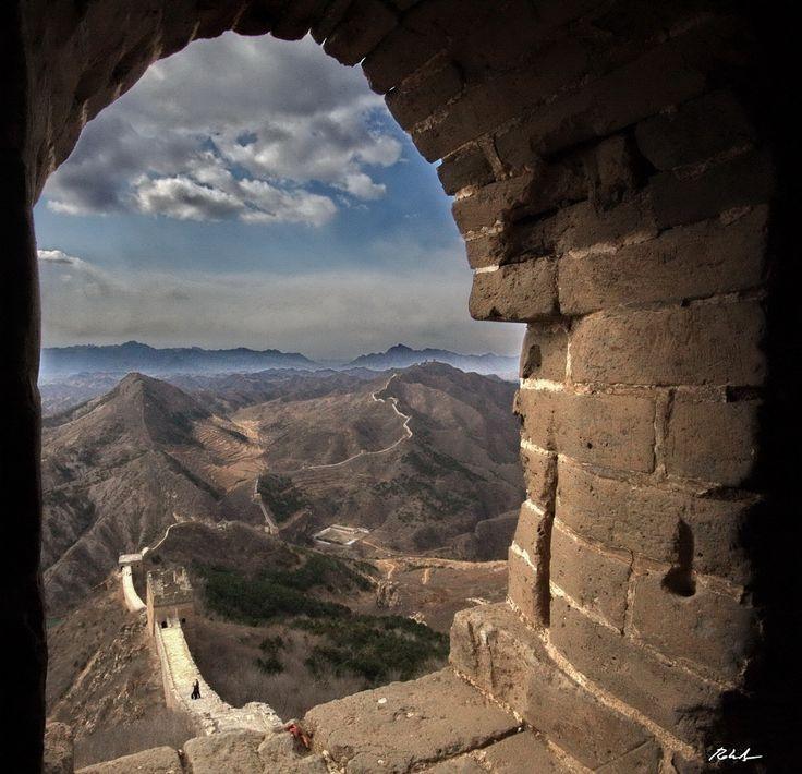 China. The great wall