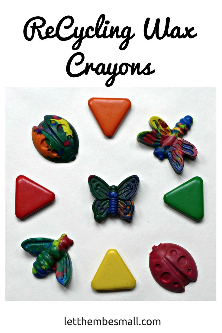 Recycling Wax Crayons is a great way to reuse and recycle old bits of crayon. Great pre school activity fun