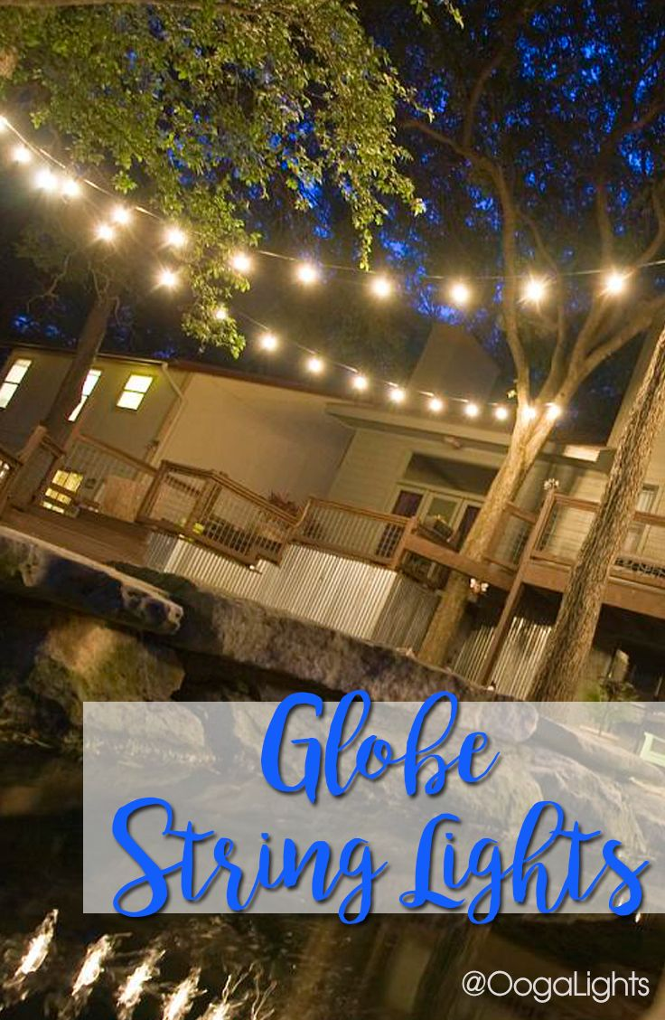99 best outdoorcafe lighting images on pinterest cafe lighting globe light bulbs are included in our wedding globe string lights and lighting mozeypictures Image collections
