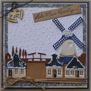 Trijntjes Kaarten: Hollandse kerstkaart