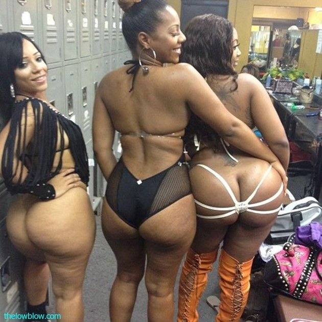Big booty ebony strippers