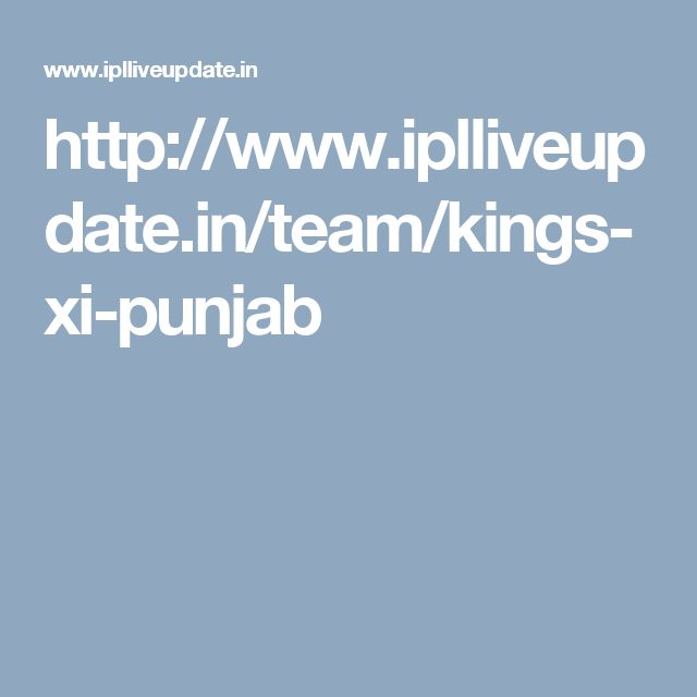 http://www.iplliveupdate.in/team/kings-xi-punjab