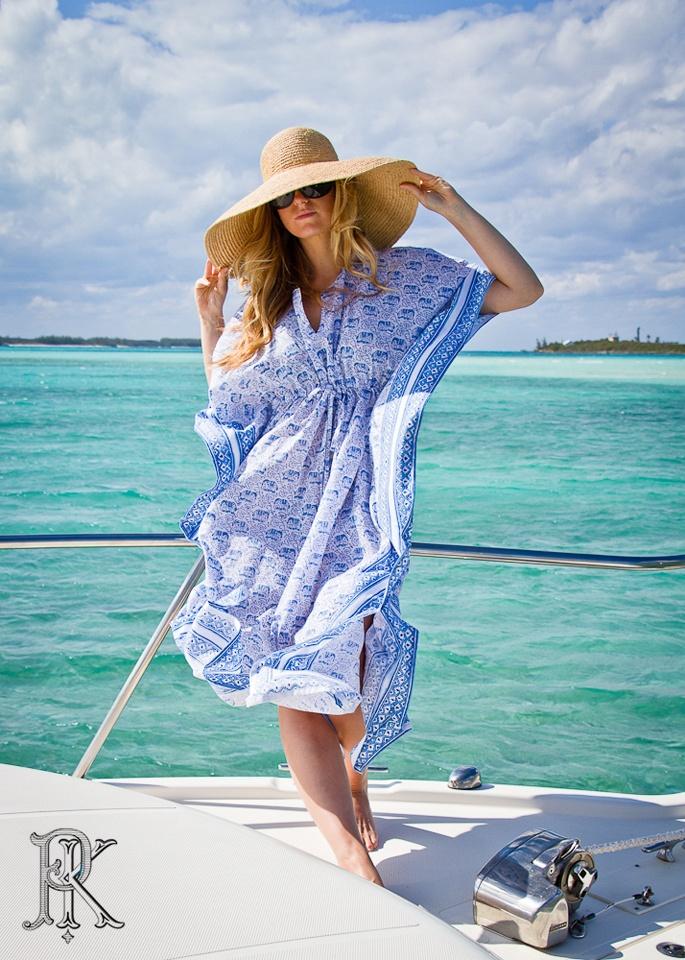 Beach Resort Fashion Tunic Harbour Island Bahamas Blue Elephant Photography Pinterest And