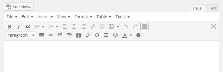 Enables the advanced features of TinyMCE, the WordPress WYSIWYG editor.