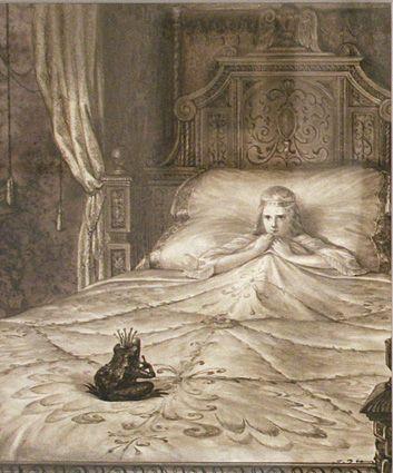 1. The Princess and The Frog or King Frog/King Prince.  Grimm #1.