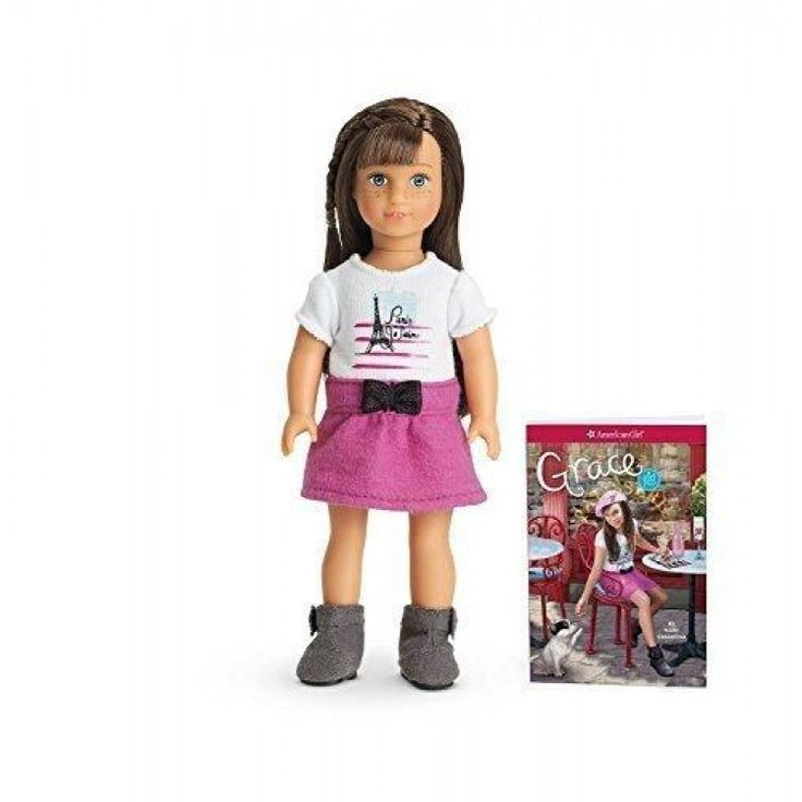 American Girl Girl of the Year 2015 Mini Doll Brand New Grace Thomas  #Grace #Thomas - Brand New Unopened - 6 Mini #Doll This is 6 inch mini doll brings GOTY s world to life on a smaller scale. She arrives wearing an outfit inspired by her stories. Plus, she comes with a miniature abridged version of the first book in her series.