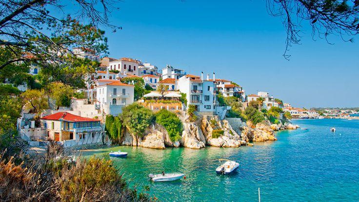 Skiathos island in Sporades