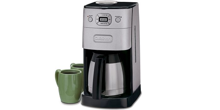 Cuisinart DGB-650BC - #1 Top Rated Coffee Makers With Grinder