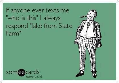 Allusion: Jake from State Farm