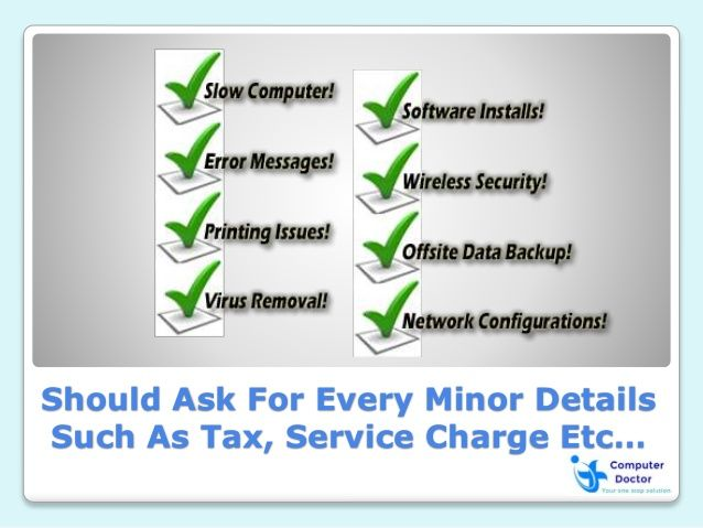 Should Ask For Every Minor Details Such As Tax, Service Charge Etc…