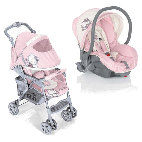 Hello Kitty Grillo Duo Buggy + Car Seat pink - Collection 2015 on Prams.net.