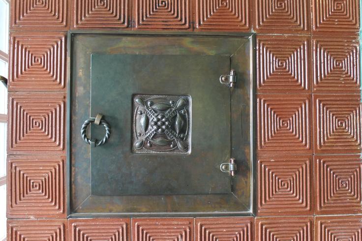 An oven in Hvitträsk.