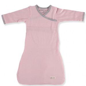 MERINO KIDS Cocooi Gown Aoraki Pink 3-12 Months