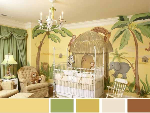 Jungle Bedroom Accessories Design At Nursery Room Jungle Bedroom Accessories