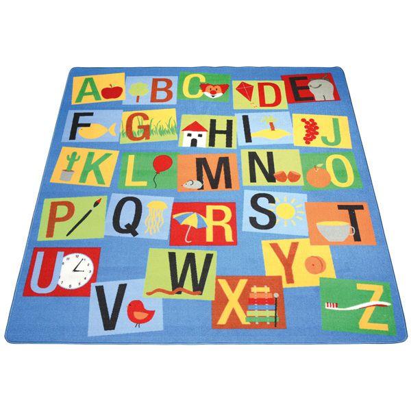 Spectacular EDUPLAY Kinder Teppich Buchstaben xcm