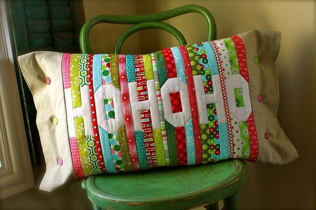 Super cute Christmas pillow