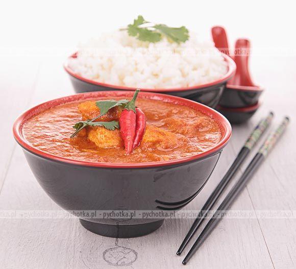 Tajska zupa z kurczaka
