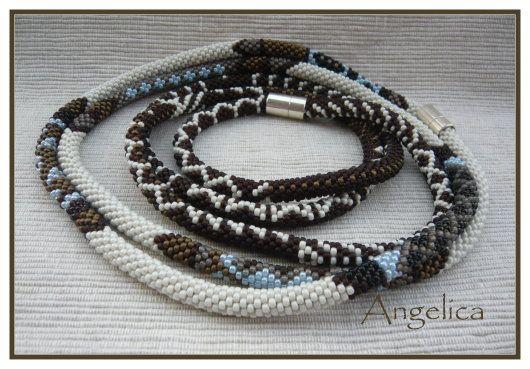 African Stripes (pattern by Judith Bertoglia Giffin) by Angelica of http://www.a-faja.de