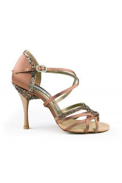 Chaussures danse professionnelle paillettées