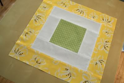 How to turn this block in to a Bento Box quilt block.   Clever technique!