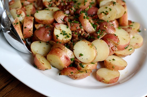 Potato Salad with Sherry Vinegar, Chives & Bacon | recipes | Pinterest ...