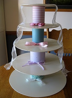 make your own cupcake wedding cake stand 1000 images about do it yourself cake stands on 17010