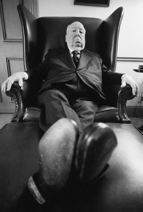 """""""Always make the audience suffer as much as possible."""" - Alfred Hitchcock"""