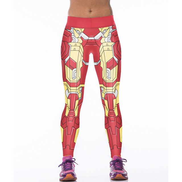 #Brilliant - woman's Leggings ... from Gym Fanatics. Get yours at http://gymfanatics.co.za/products/womans-leggings-full-length-iron-man?utm_campaign=social_autopilot&utm_source=pin&utm_medium=pin today.