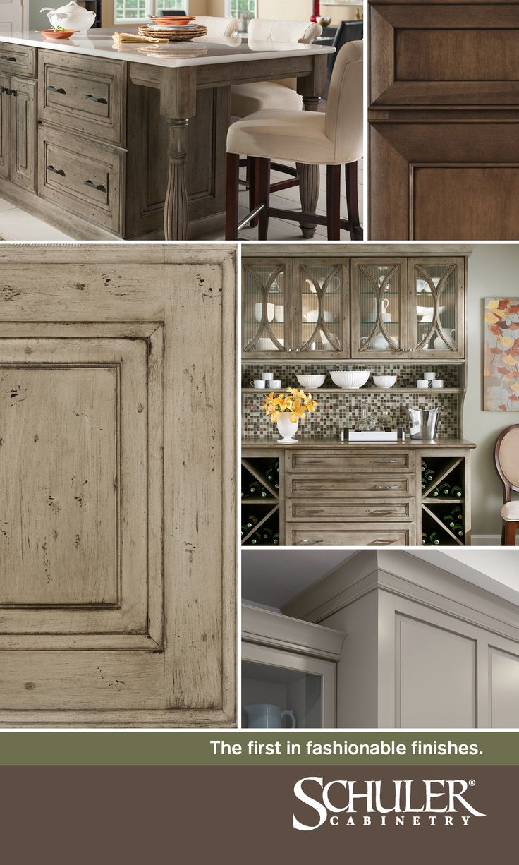Schuler Cabinetry is the first in fashionable