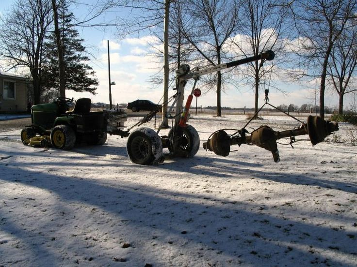 inflatable tires for my engine hoist? - Pirate4x4.Com : 4x4 and Off-Road Forum