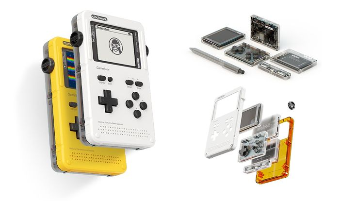 GameShell, Open Source Retro Gaming & STEM Portable Console project video thumbnail