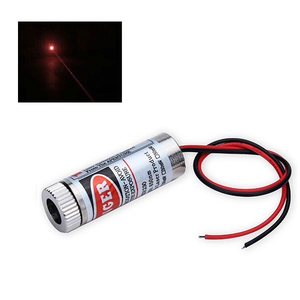 5mW 650nm Focusable RED Dot Laser Diode Module 135mm Lens