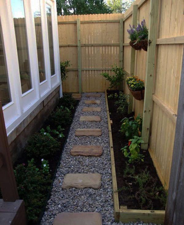 Tutorialous.com   26 easy pathway designs for your garden!