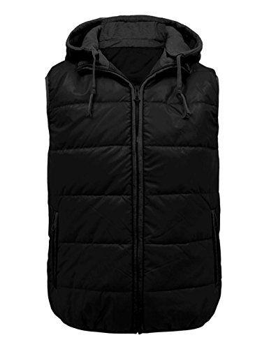 Envy Boutique Mens Padded Zip Hooded Puffer Bodywarmer Gilet Sleeveless Jacket Coat Black L Envy Boutique http://www.amazon.ca/dp/B00P2GII74/ref=cm_sw_r_pi_dp_iWgbwb1DMTVRG