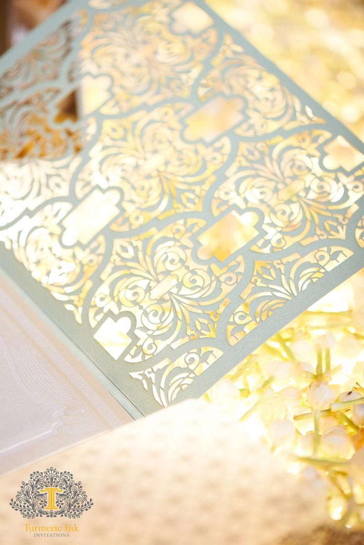 11 best Laser Cut Invite images on Pinterest | Indian bridal, Indian ...