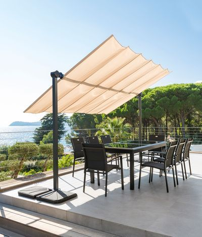 les 25 meilleures id es de la cat gorie parasol de terrasse sur pinterest bain de soleil. Black Bedroom Furniture Sets. Home Design Ideas
