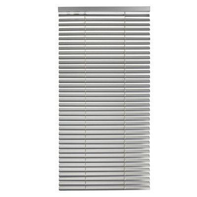 "MaduraUS Tekno Venetian Blind Size: 23.62"" W x 85.8"" L, Color: Gray"
