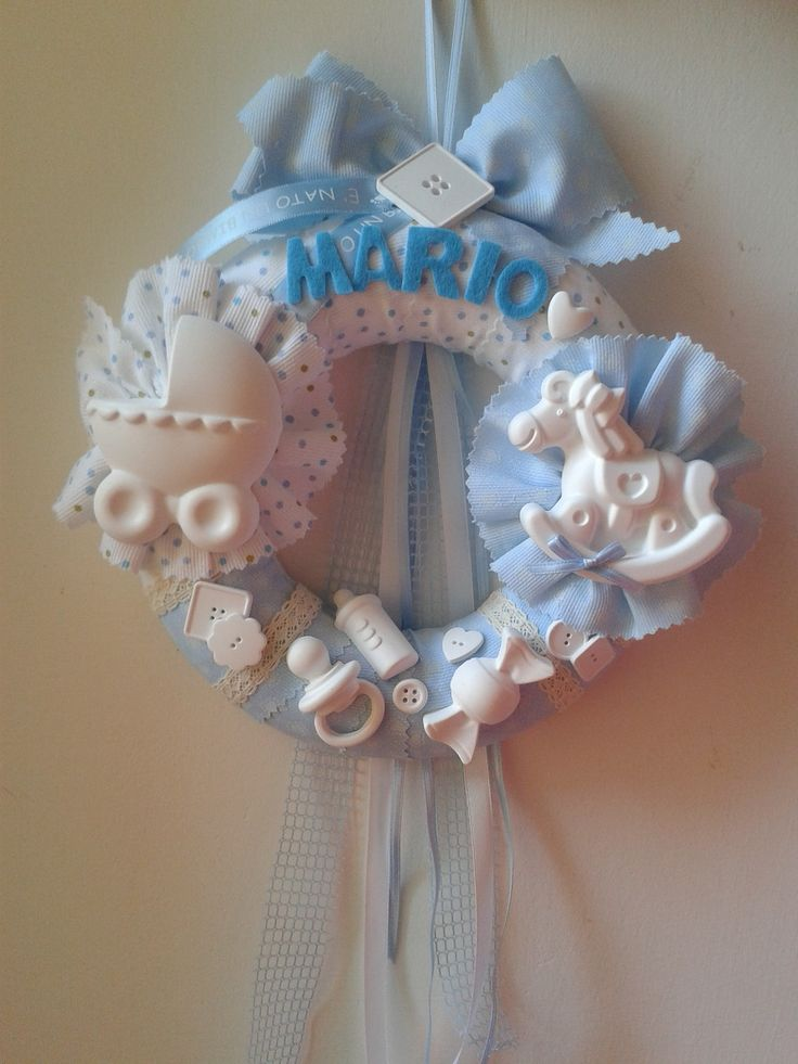 Ghirlanda baby-handmade by IlCassettodeiSogni