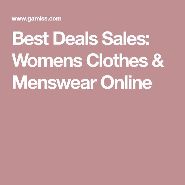 Best Deals Sales: Womens Clothes & Menswear Online