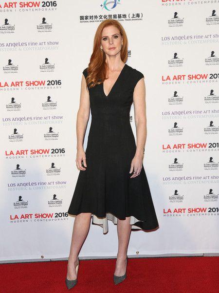 Sarah Rafferty Little Black Dress
