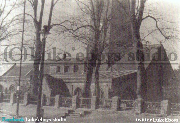 halesowen town chruch, using ilford pan f 50plus and caffenol