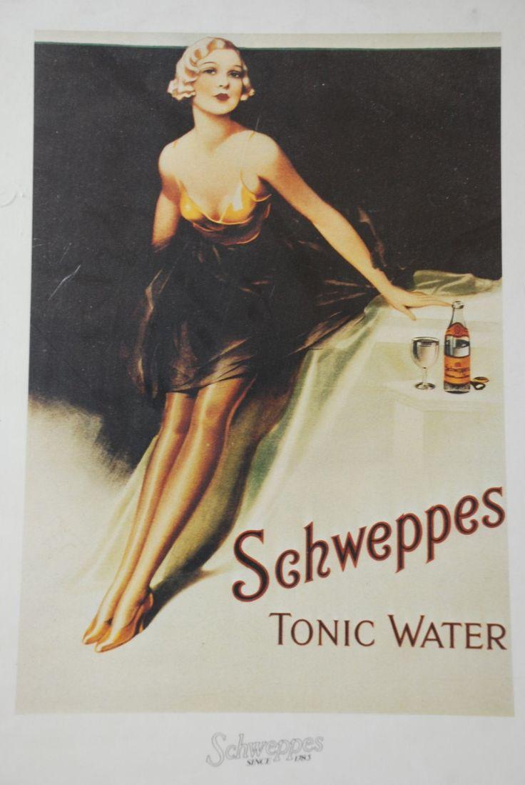 Resultado de imagem para schweppes vintage