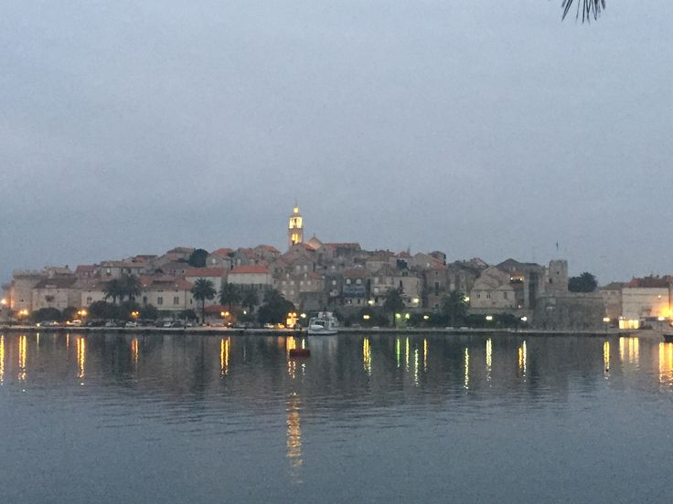 Another view of Korčula off Dalmatian Coast of Croatia. Incredibly picturesque UNESCO listed town.