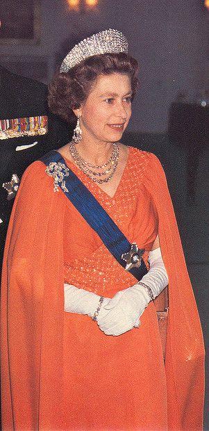 Queen Elizabeth II... a few years ago.