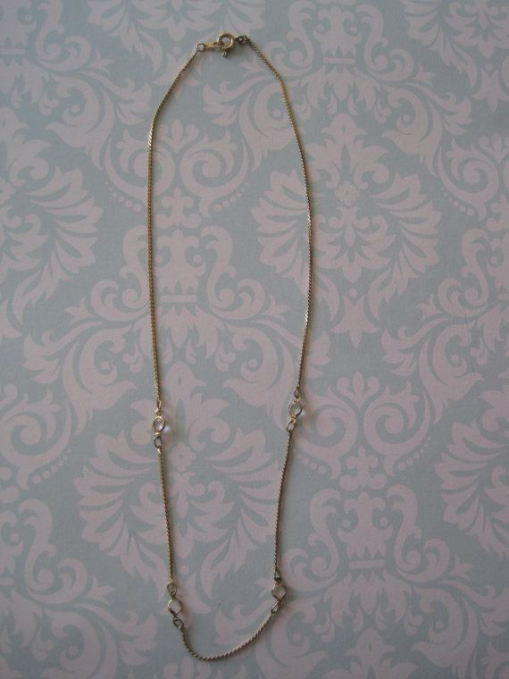 US$10.00 plus shipping! https://www.etsy.com/ca/listing/209459500/dainty-vintage-rhinestone-necklace-with?ref=shop_home_active_20