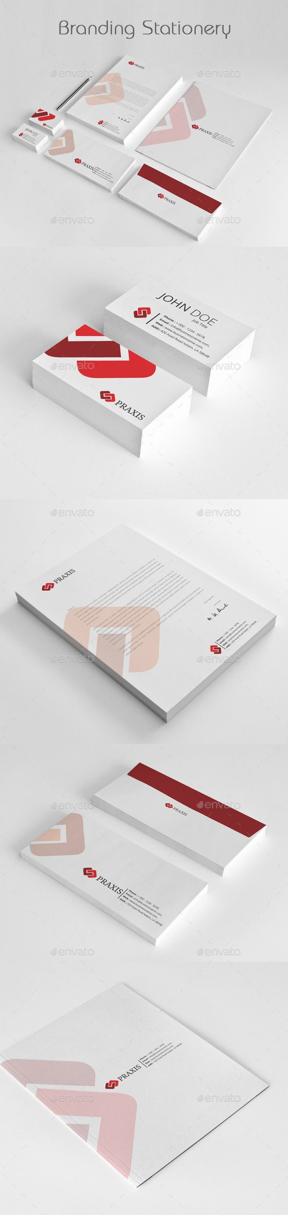 #Branding #Stationery #Templates - Stationery Print Templates Download here: https://graphicriver.net/item/branding-stationery-templates/11907005?ref=alena994