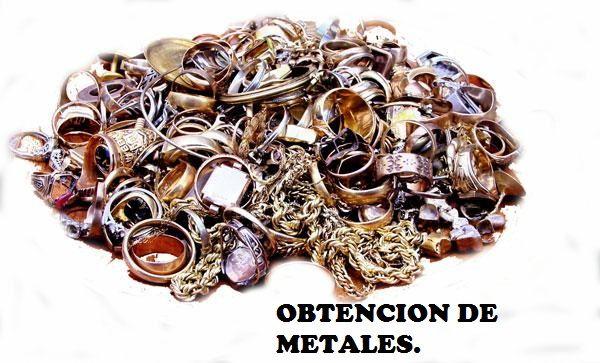 Obtencion de metales.