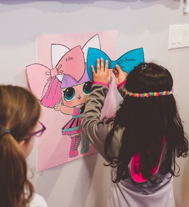 An LOL Doll Themed Birthday Party – The Wee Sparkle
