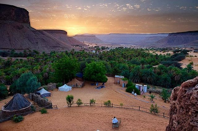 Terjit Mauritania #Terjit #Oasis @mimundosinfronteras #terjit #adrar  #terralodge #africancamp #exploreafrica #tr… | Wonders of the world, Golf  courses, Mauritania